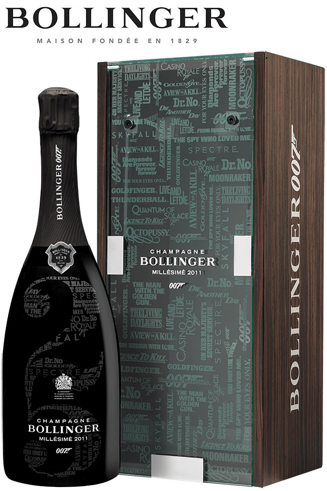 Bollinger Vintage 2011 - James Bond 007