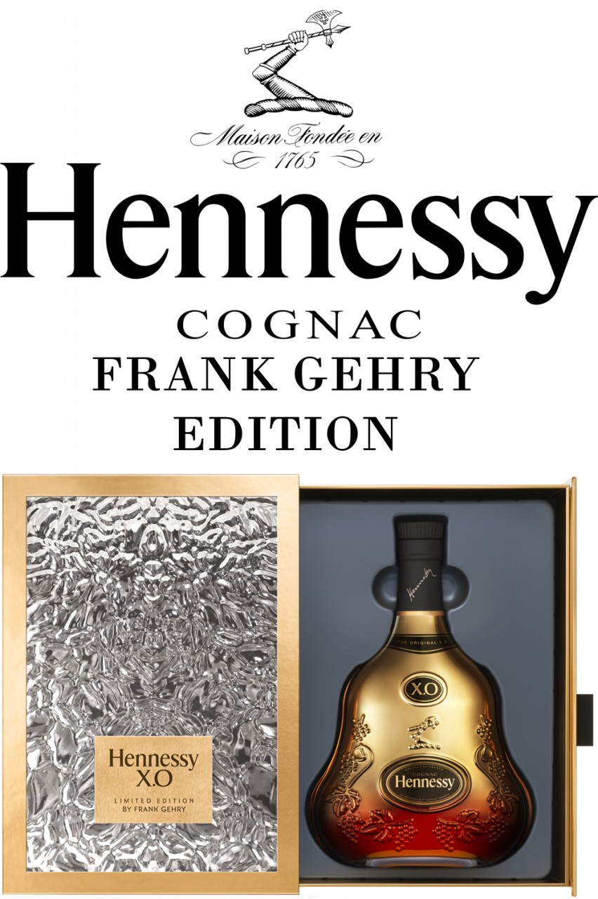Hennessy X.O by Frank Gehry Cognac