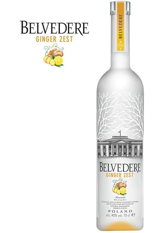 Belvedere Ginger Zest Vodka - 40% Vol.