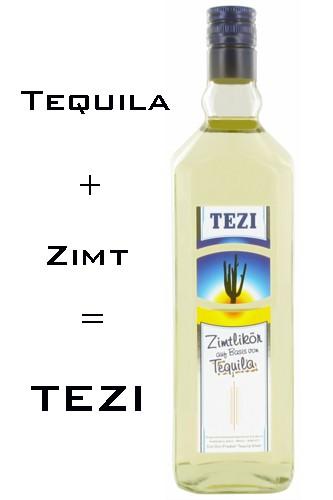 Tezi Tequila Zimt Likör