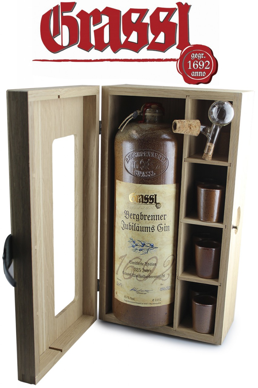 Grassl Jubiläums Gin Spezialität