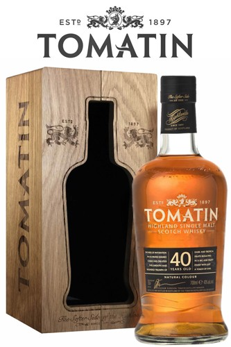 Tomatin 40 Jahre Highland Scotch Whisky