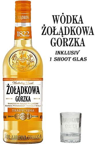 Zoladkowa Gorzka mit Glas