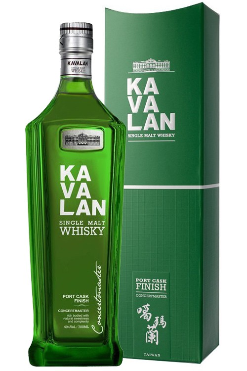 Kavalan Concertmaster - Port Cask Finish - New Design