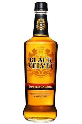 Black Velvet Toasted Caramel - 1 Liter