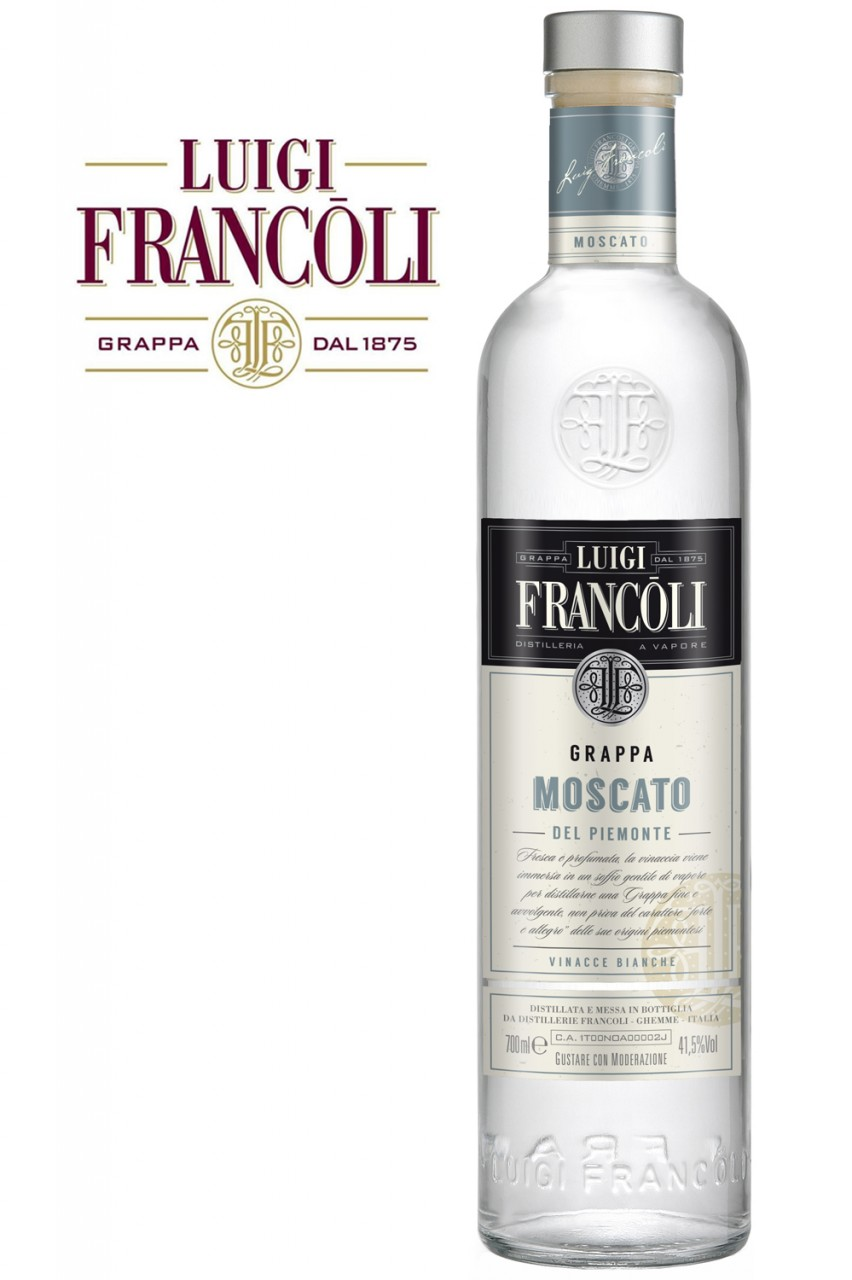 Luigi Francoli Grappa Moscato del Piemont