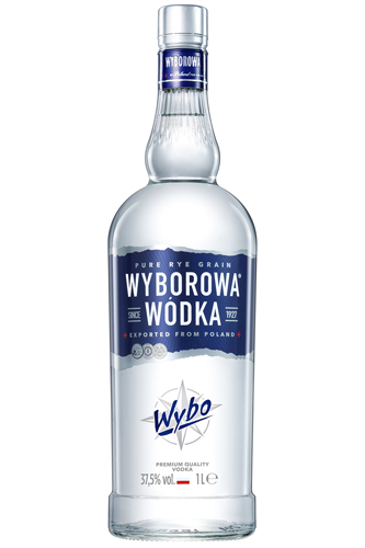 wyborowa wodka 1 liter vodka haus. Black Bedroom Furniture Sets. Home Design Ideas