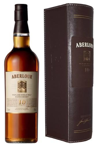 Aberlour 10 Jahre in Lederbox