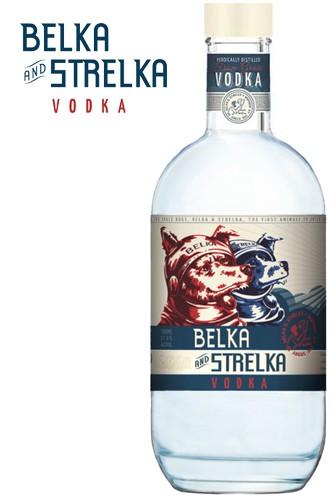 Belka und Strelka Vodka