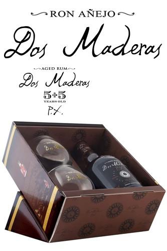 Dos Maderas PX Rum Geschenkset