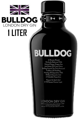 Bulldog London Dry Gin - 1 Liter