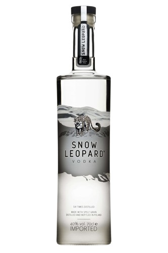 Snow Leopard Vodka - 0,7 Liter