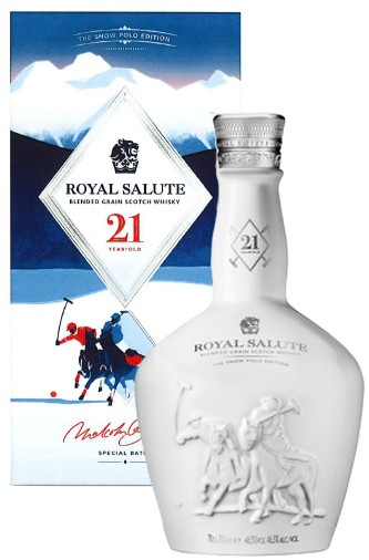 Chivas Royal Salute 21 Jahre -Snow Polo Edition
