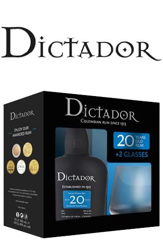 Dictador 20 Rum Geschenkset