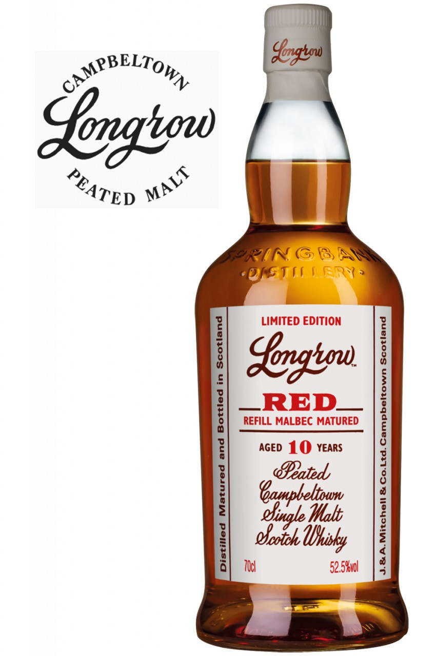 Longrow RED - 10 Jahre Malbec Cask - 52,5% Vol.
