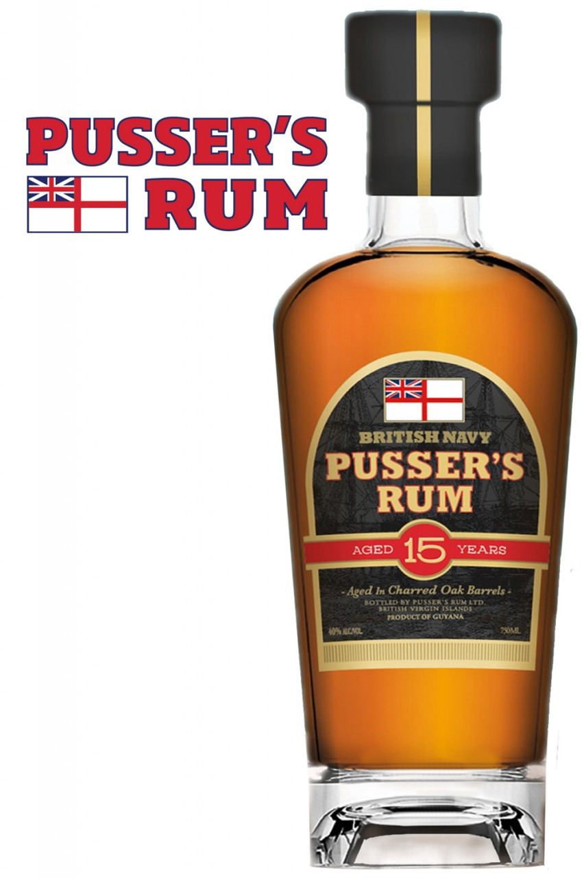 Pussers 15 Jahre Rum - New Edition