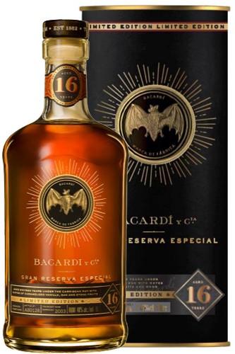 Bacardi 16 Jahre Gran Reserva Rum