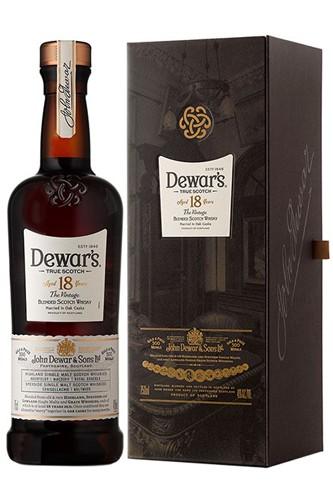 Dewars's 18 Jahre Double Aged Blended Scotch