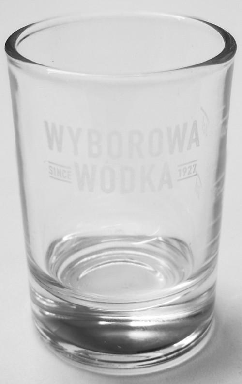 Wyborowa Wodka Glas