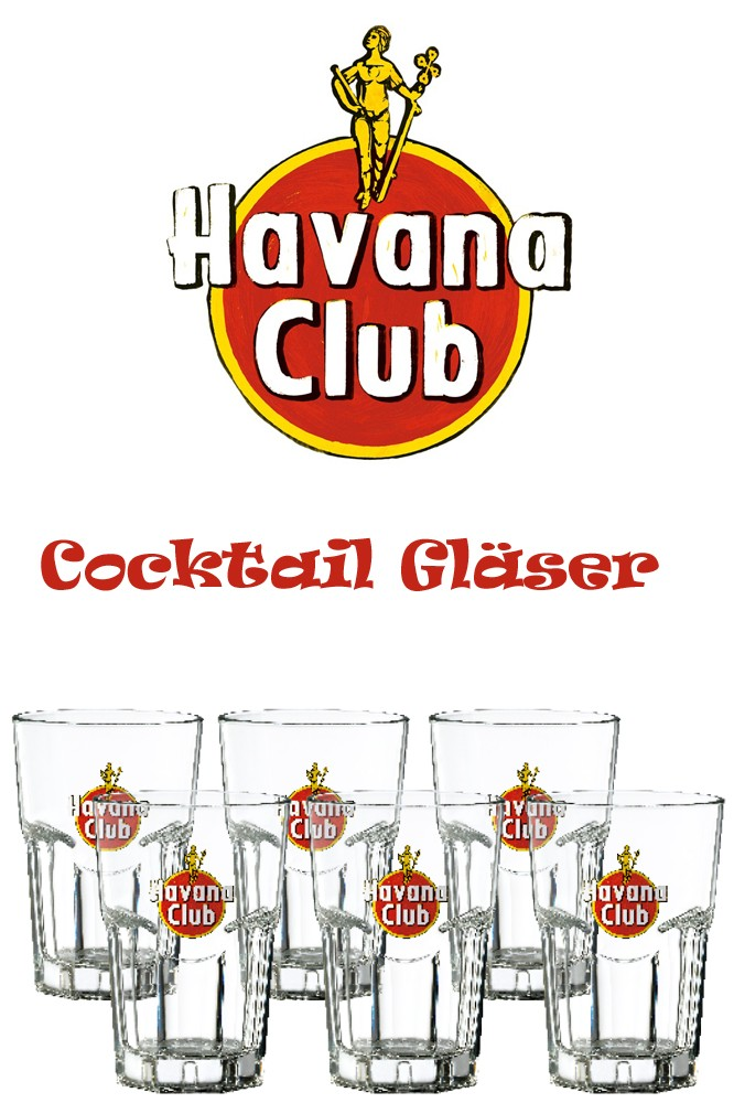 Havana Club Cocktailglas