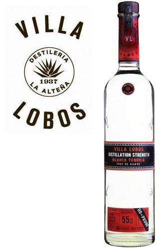 Villa Lobos Blanco Tequila - 55% Vol.