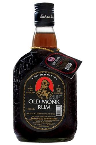 Old Monk 7 Jahre - 1 Liter Rum