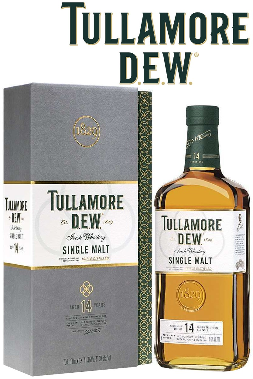 Tullamore D.E.W. 14 Jahre Irish Whiskey