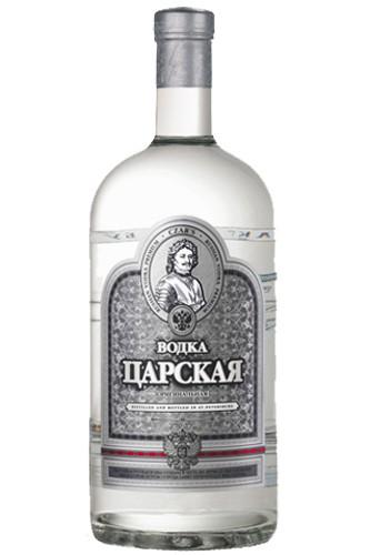 Zarskaja Silver 1 Liter Vodka