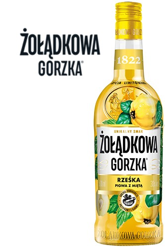 Zoladkowa Gorzka Quitte & Minze