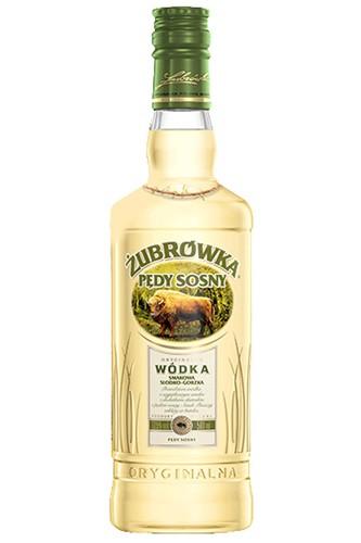 Zubrowka Pedy Sosny Kiefersprossen Vodka