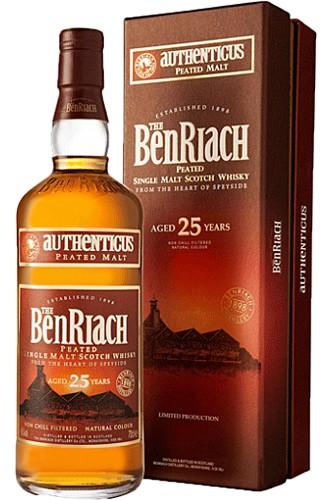 Benriach 25 Jahre Authenticus Peated Whisky