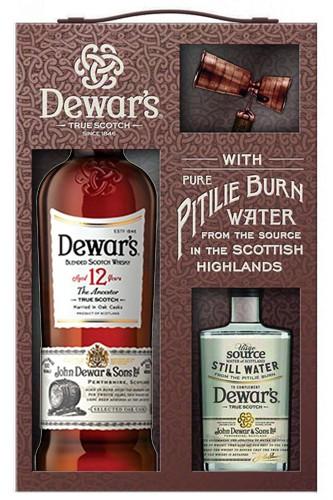 Dewars 12 Jahre Whisky Geschenkset