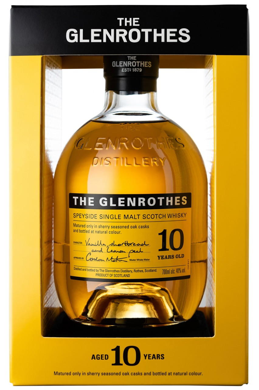 Glenrothes 10 Jahre - Soleo Collection