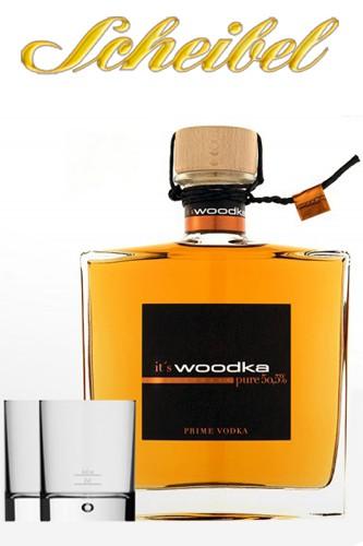 Scheibel Woodka mit 2 Tumbler