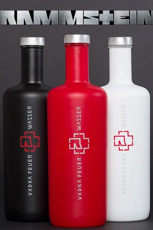Rammstein Vodka 3-er Set