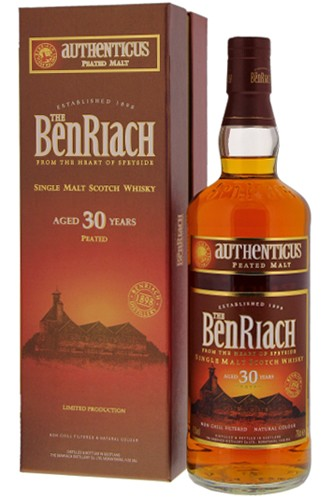 Benriach 30 Jahre Authenticus Peated Whisky