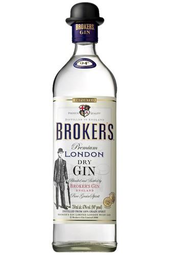 Brokers Dry Gin 47% Vol.