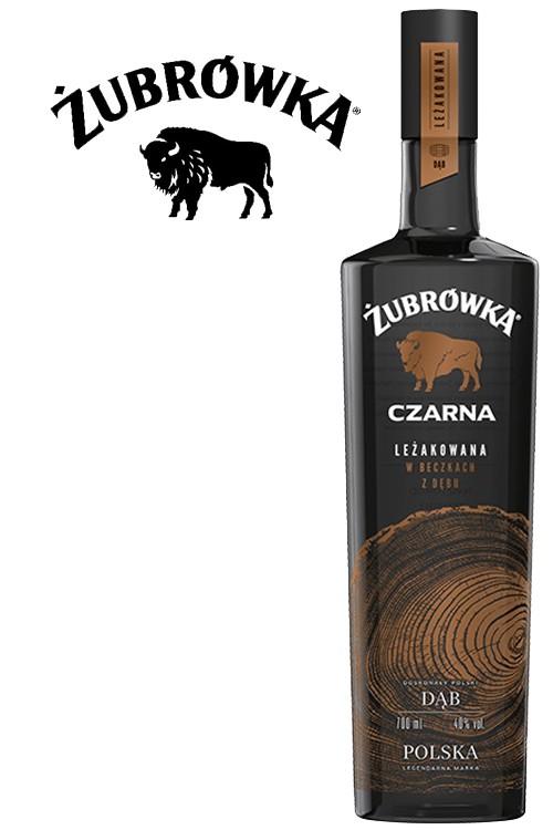 Zubrowka Black Czarna DAB Vodka