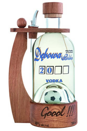 Debowa Polska Vodka mit Henkel + Fussball