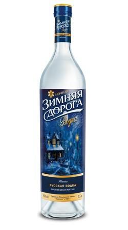 Zimnjaja Doroga (Nacht) Vodka