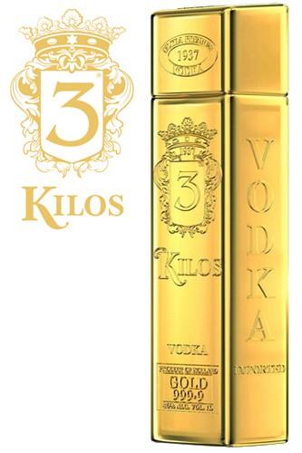 3 Kilo's Gold Vodka