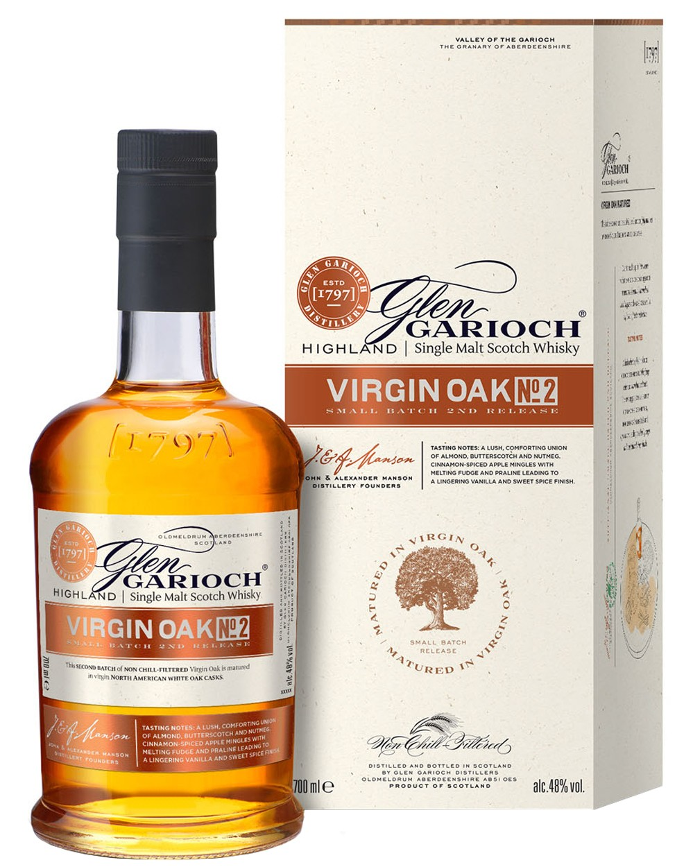 Glen Garioch Virgin Oak No. 2 - Limited Edition