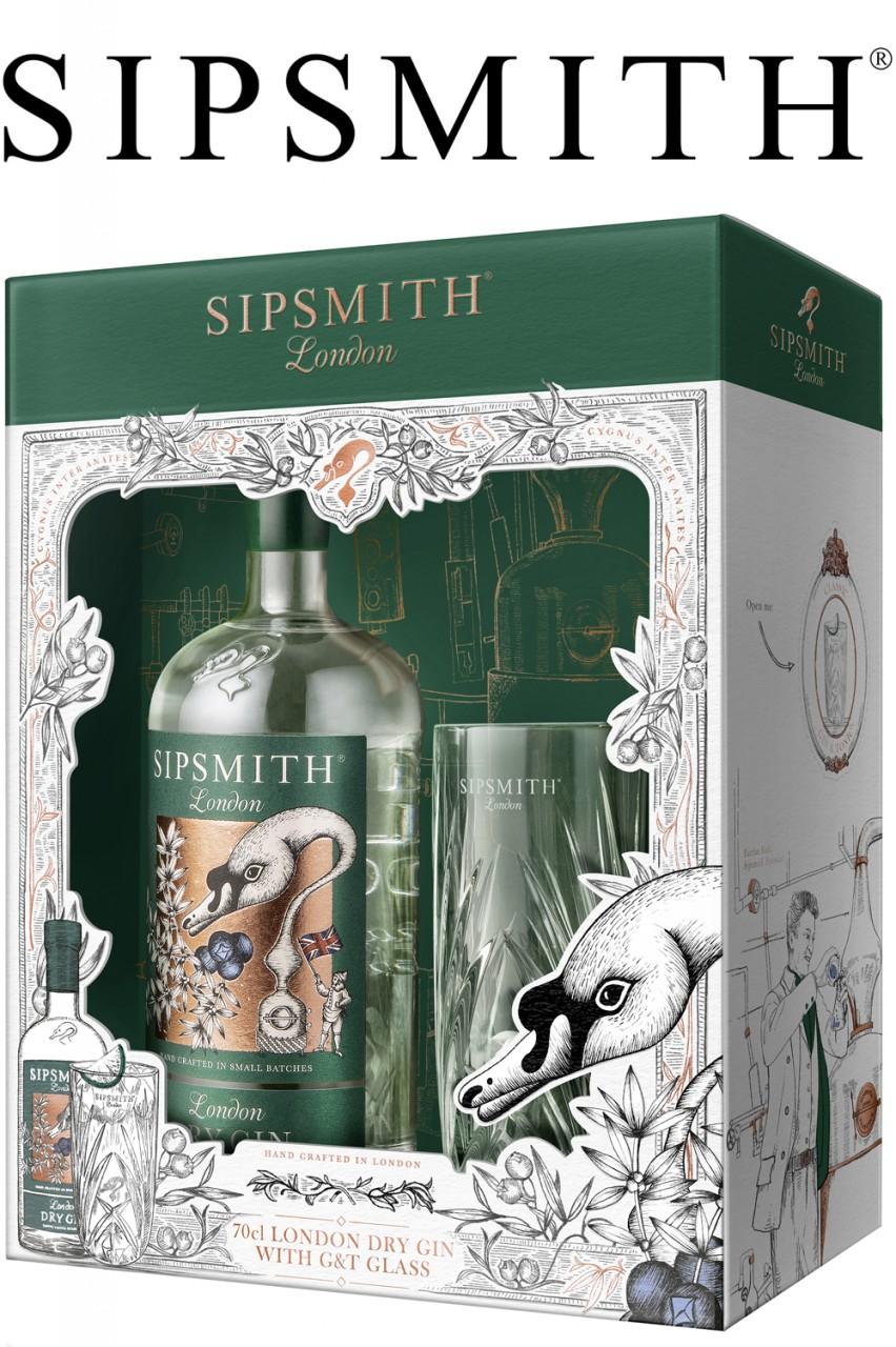 Sipsmith London Dry Gin - Geschenkset