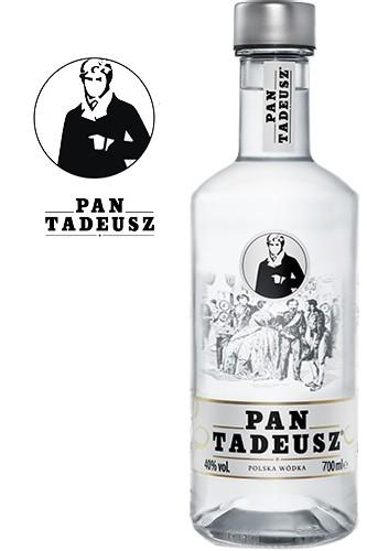 Pan Tadeusz Vodka - Neues Design