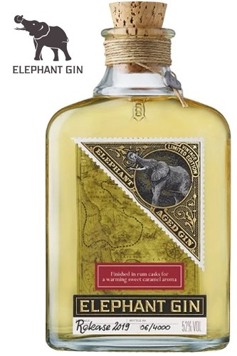 Elephant Aged Gin, 52% Vol., Limited Edition