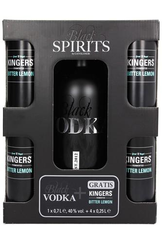 Gansloser Black Vodka & Lemon Set