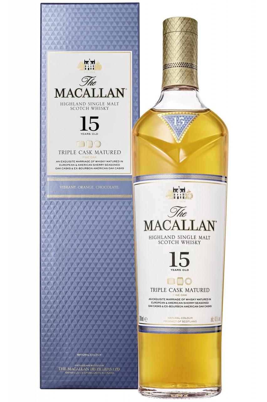 Macallan 15 Jahre Triple Cask