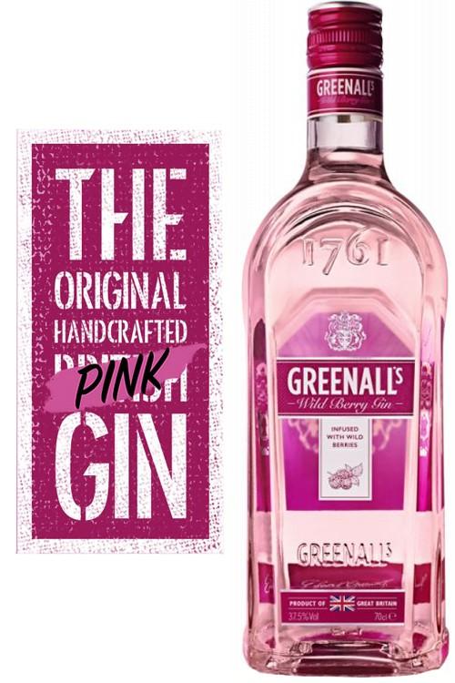 Greenall's Wild Berry Gin - 1 Liter