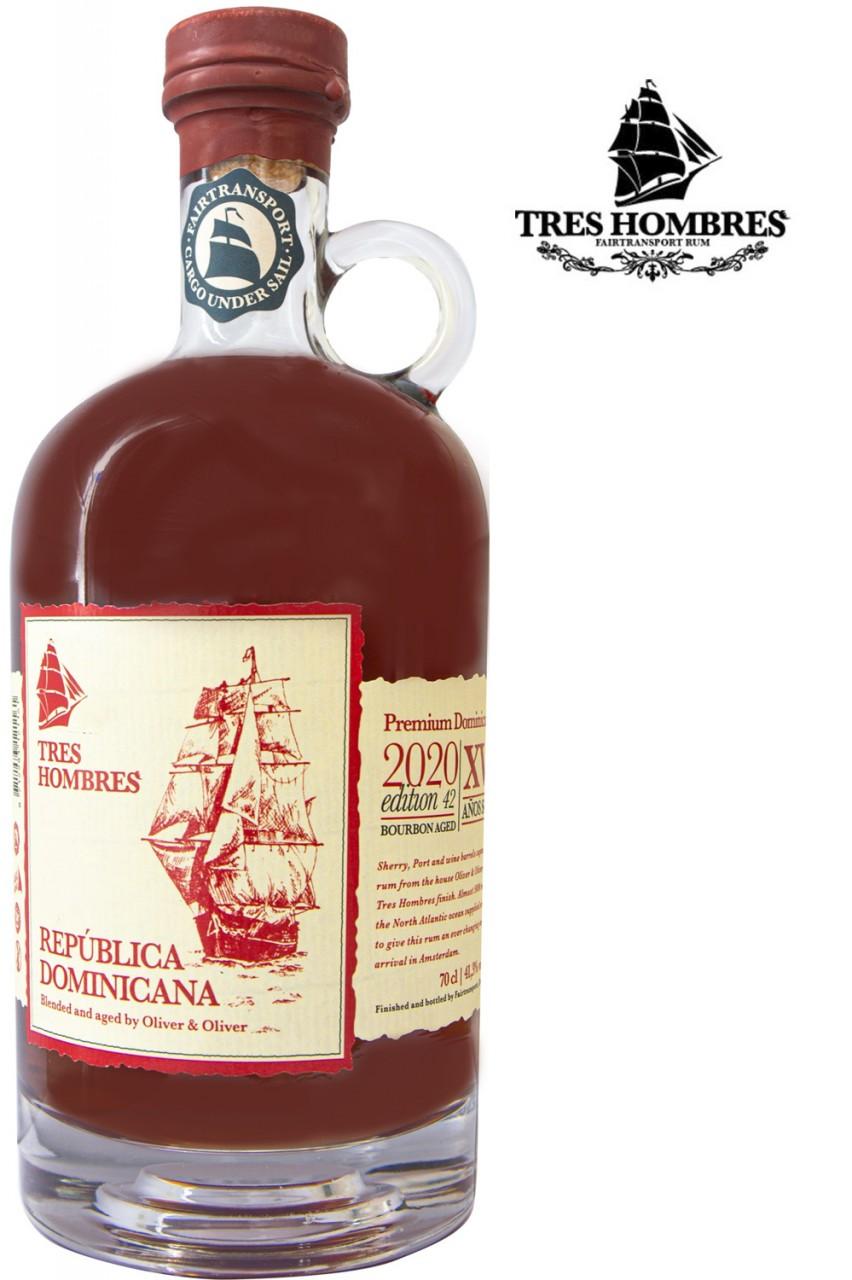 Tres Hombres Ed. 042 Rum Republica Dominicana