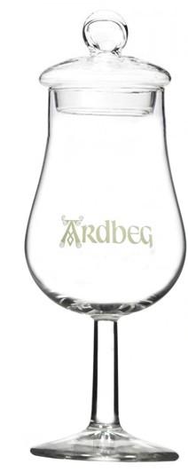 Ardbeg Whisky Glas mit Deckel